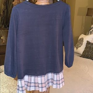 A Loft long sleeve tunic top